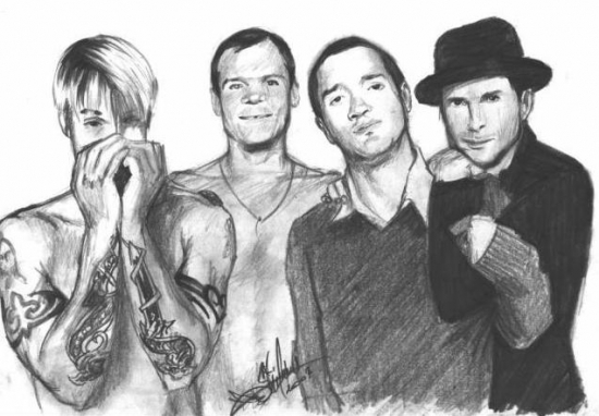 Red Hot Chili Peppers by slimensay